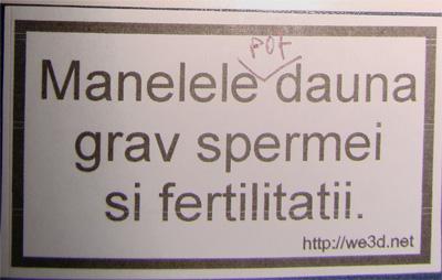 Spermei si fertilitatii