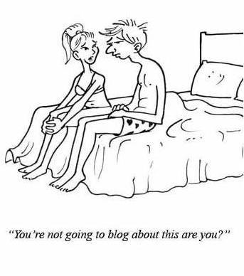 Blogging about sex