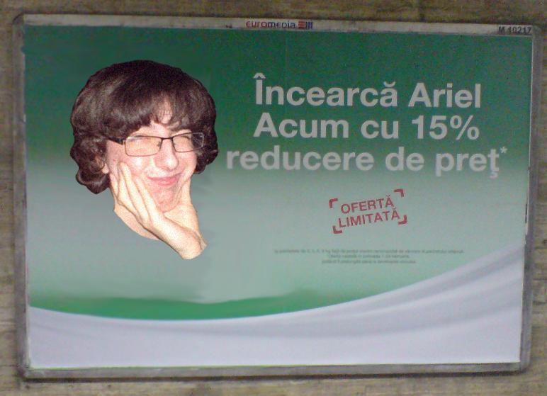 Ariel in campanie electorala