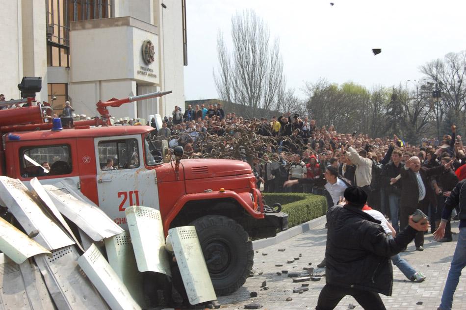 Revolutie Moldova Chisinau