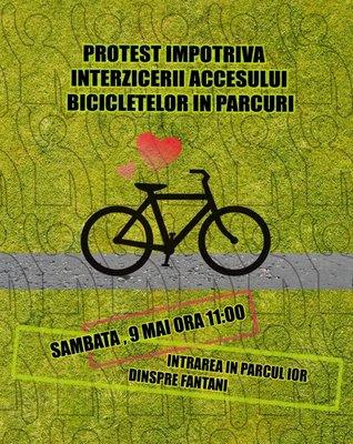 Să ne biciclim, zic!