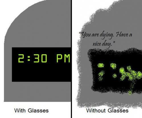 Mi s-au aburit ochelarii şi m-am luat de nişte oameni care, săracii, n-aveau nicio vină. S-au speriat rău de mine.