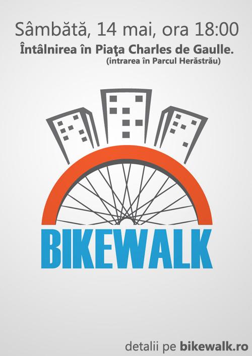 BikeWalk pe 14 mai 2011