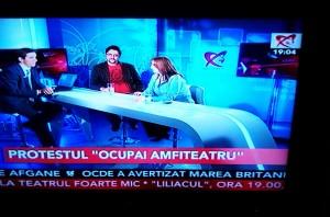 La Realitatea nu se vorbeşte româneşte...