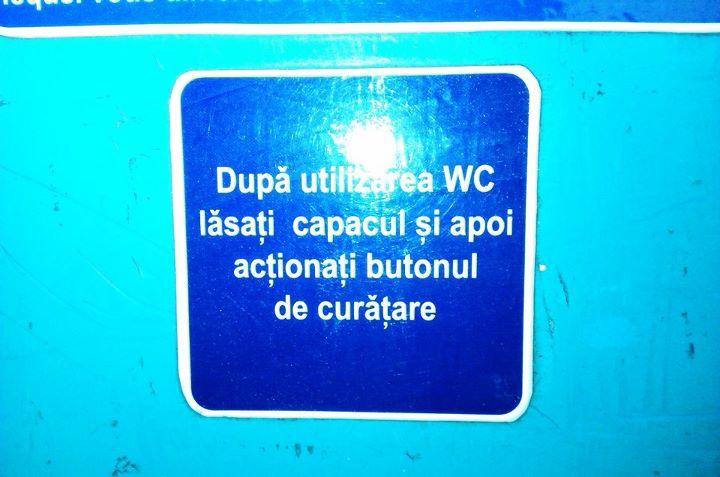 Toaleta publică...