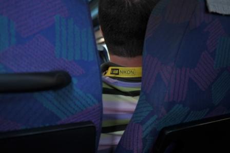 Neînfricatul Costel, şofer de autobuz mititel - (un soi de reportaj foto dintr-o tabără foto)