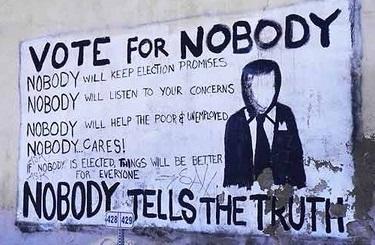 ... dar vorba e, eu alegător... eu... apropritar, eu pentru cine votez?