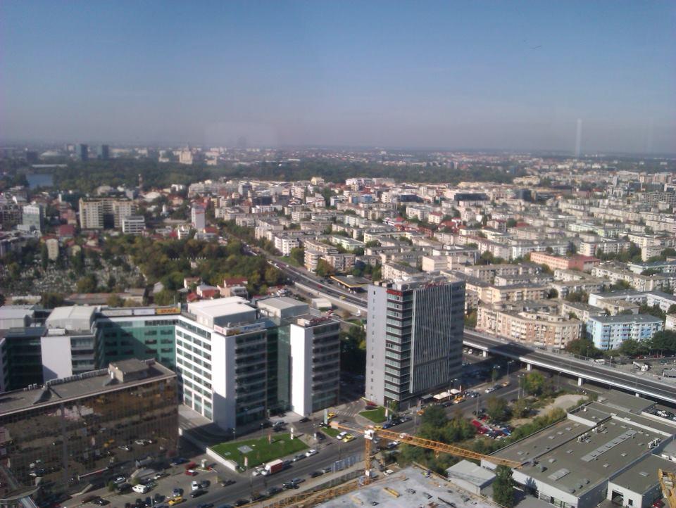 Am fost pe cea mai înaltă clădire din România