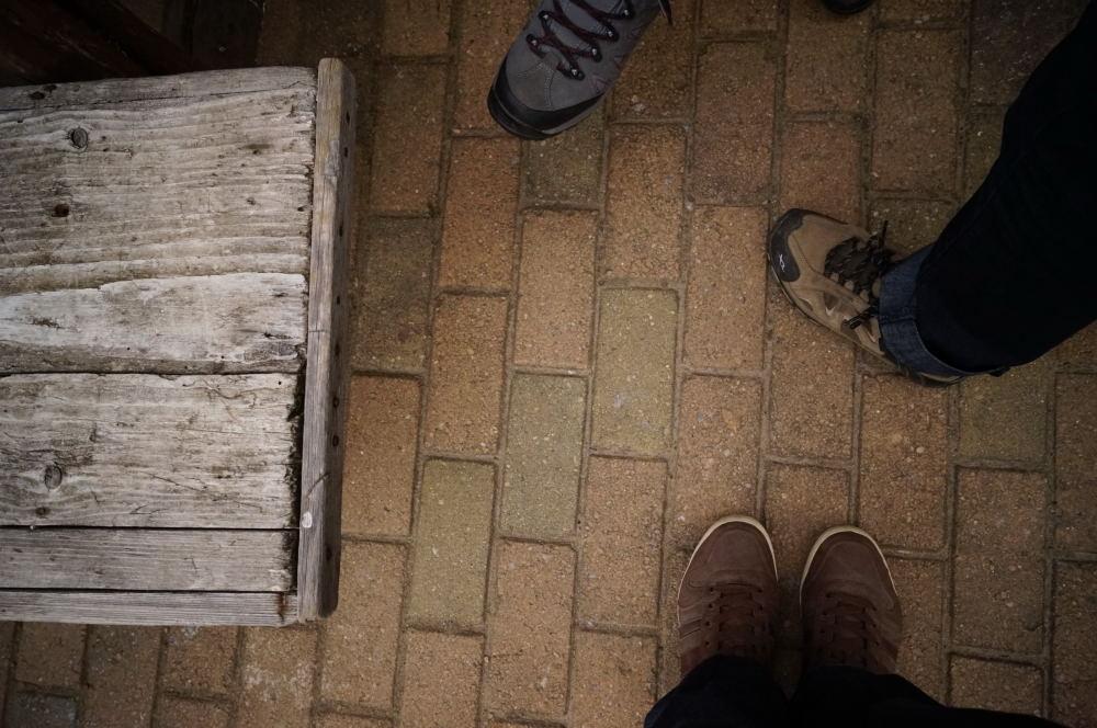 Mi-am luat pantofi noi