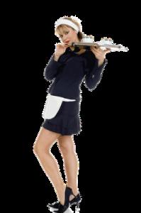 O chelneriţă