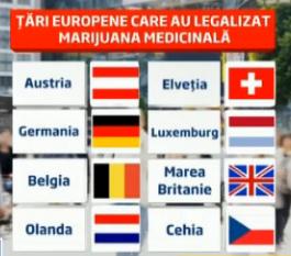 Marijuana medicinală în România?