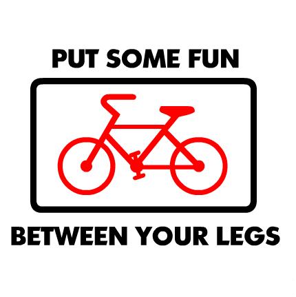 Bicicletă între craci