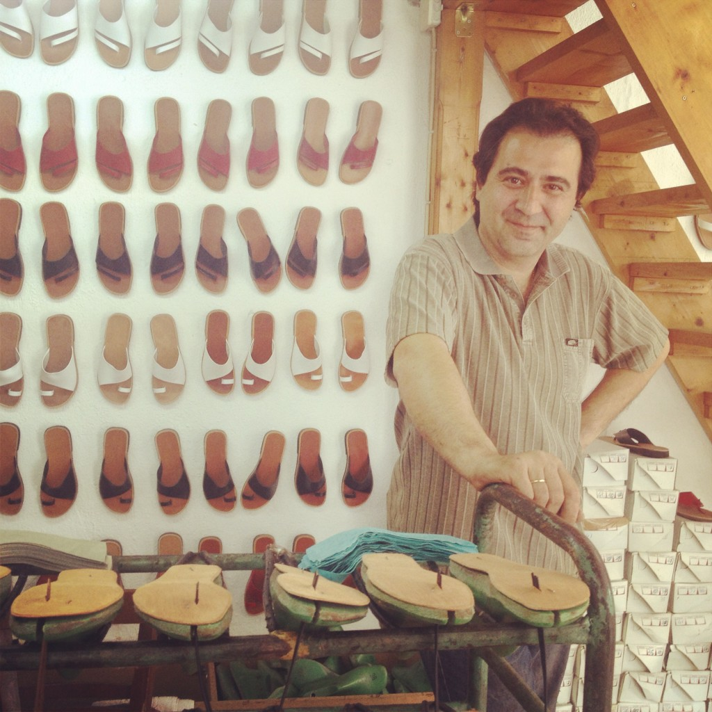 Pantofarul din Theologos