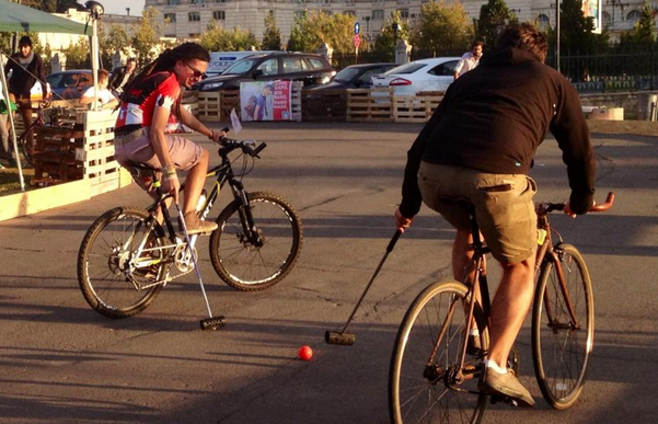 Hai la Bike Polo Fest! - 6 octombrie