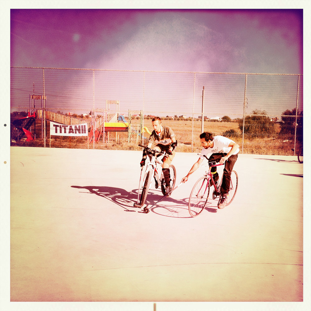 Cum a fost la October Bike Polo Fest