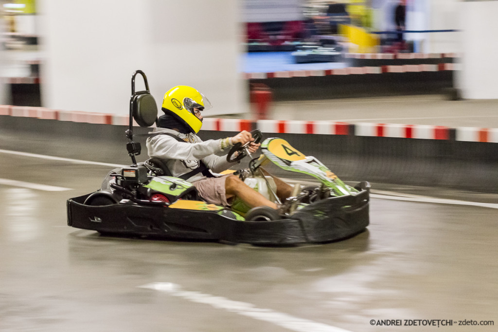 Am fost la karting și am devenit obsedat