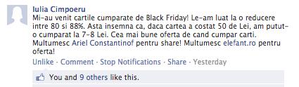 10 zile de Black Friday și 3000 lei mai târziu...