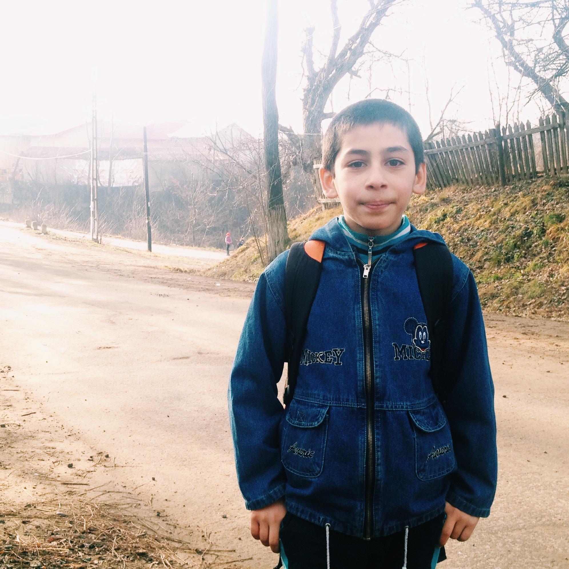 Daniel Lungu, elev în Pătrăuți