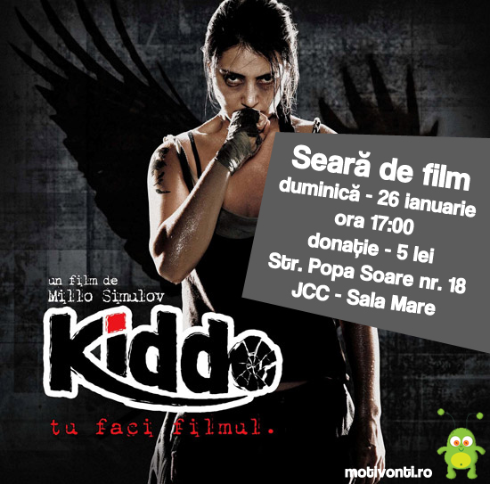 Kiddo - Film interactiv. Publicul decide ce se întâmplă.