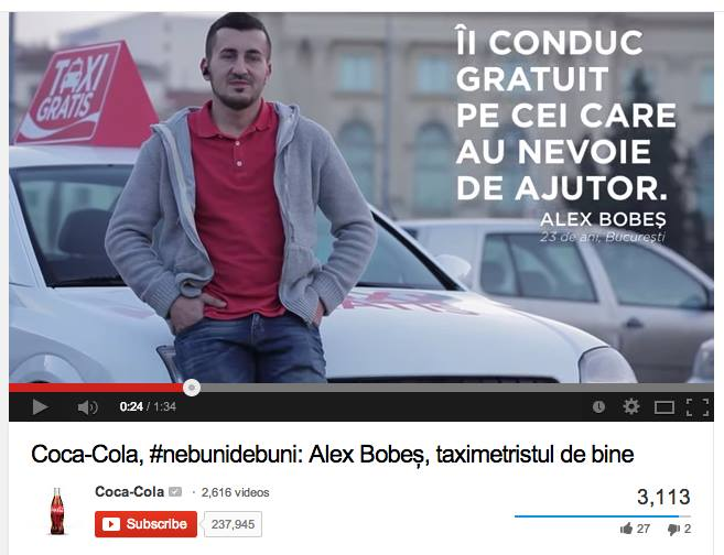 Am modificat o reclamă Coca-Cola