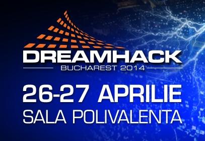 Am zece invitații de dat pentru DreamHack București!