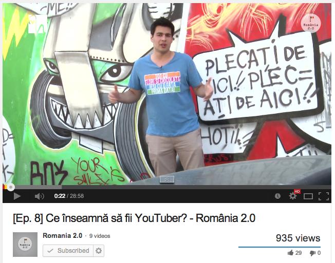 Nu mai prezint emisiunea România 2.0