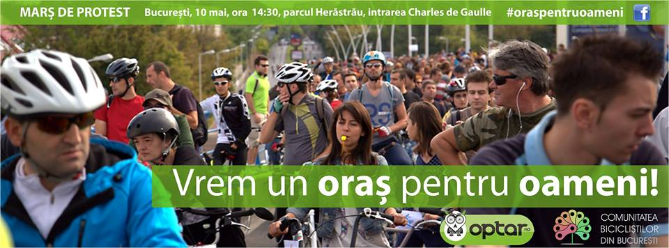 Protest biciclete