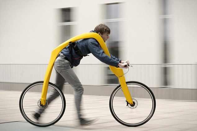 Aș inventa o bicicletă autobuz pentru transport public