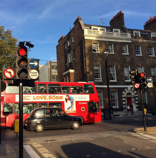 Cum am fost primit în Londra - pe scurt