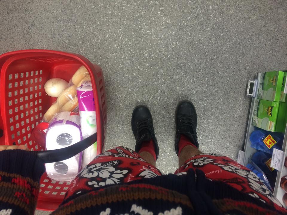 shopping ariel