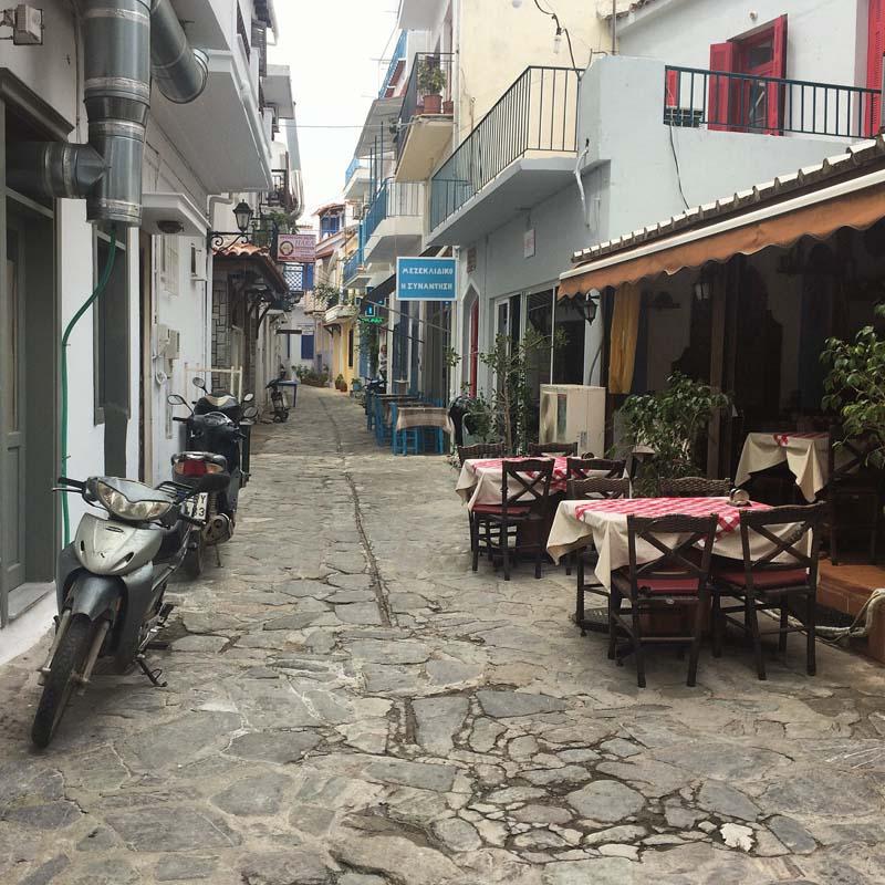 Grecia este despre siestă