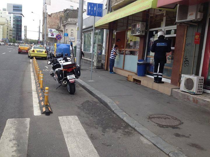 Un deja-vu cu Poliția Rutieră și pistele de biciclete