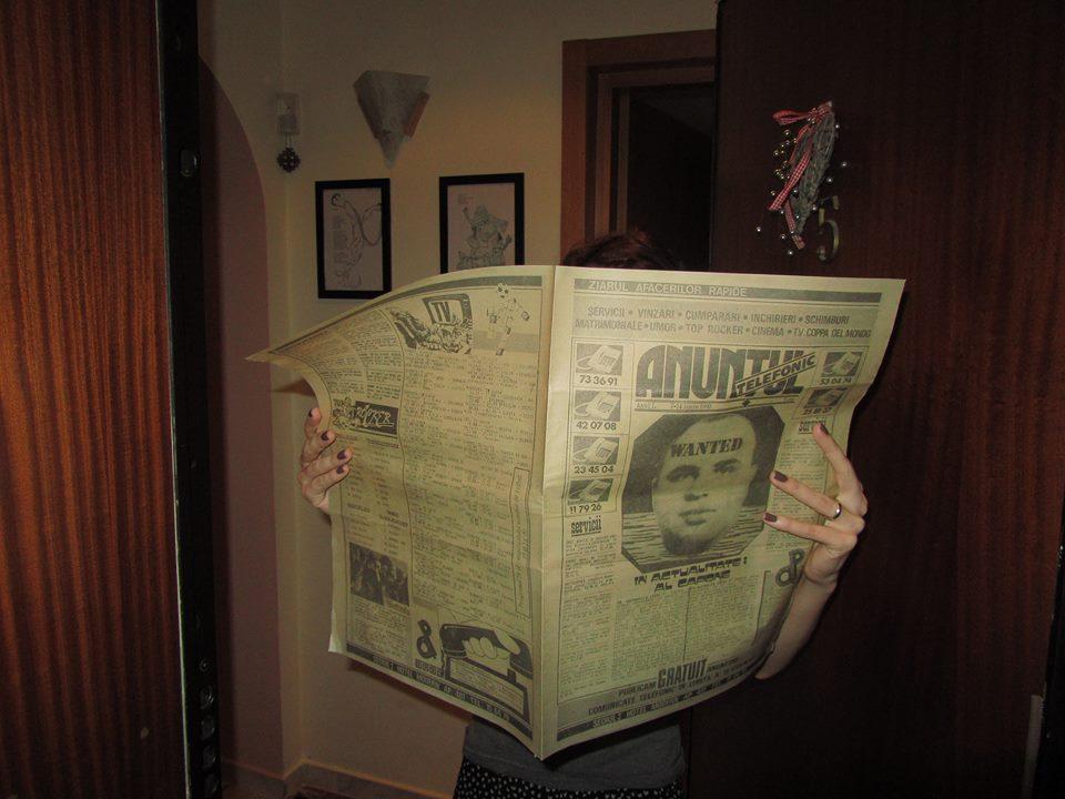 Tati, ce-i acela un ziar?