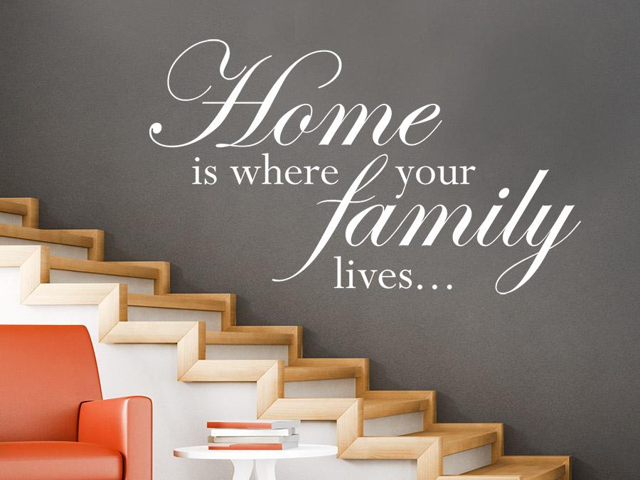 Casa-i acolo unde-i și familia