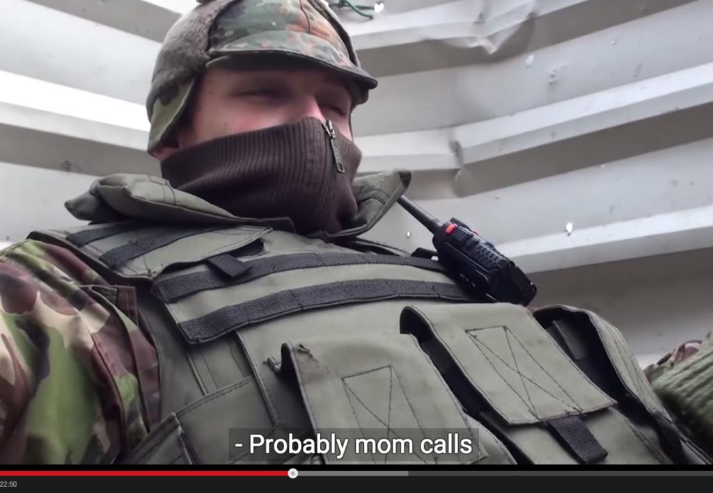 Cum ar fi să te sune maică-ta și tu să fii în război?