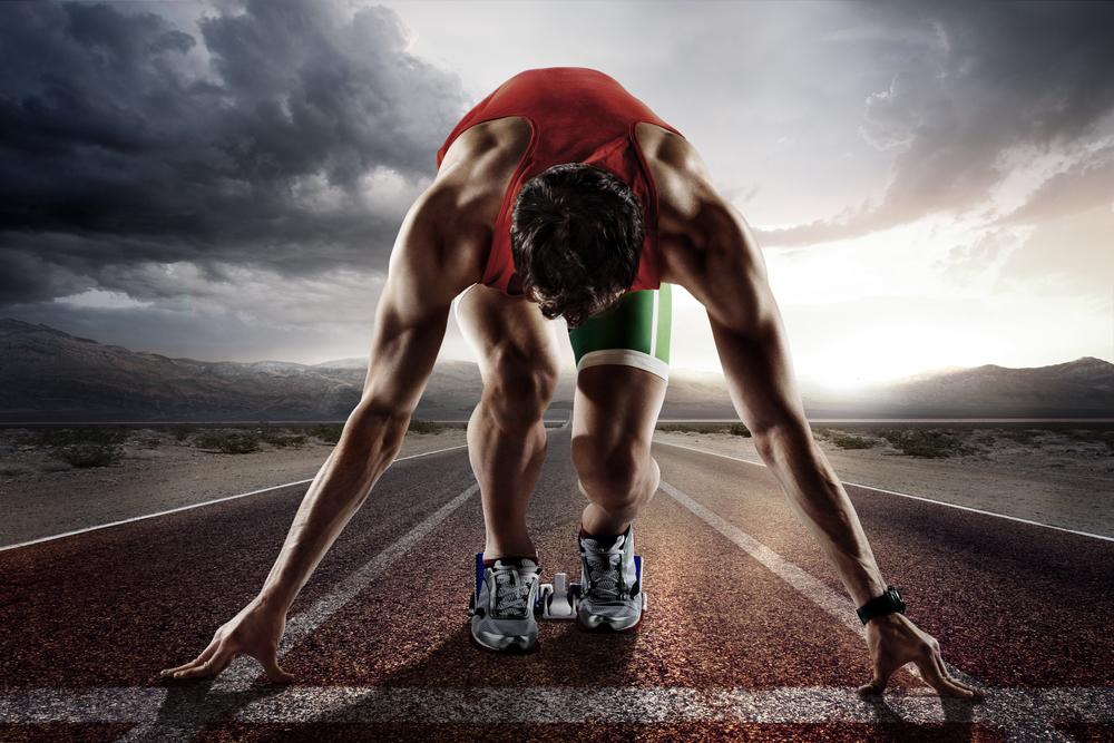 Atlet de zi cu zi, alerg prin viață