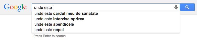 Ce caută românii pe Google?