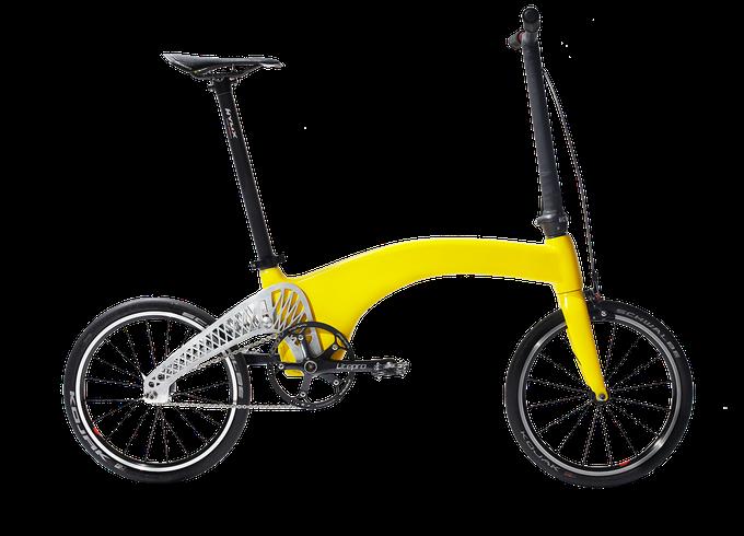 Hummingbird - bicicletă pliabilă (românească)