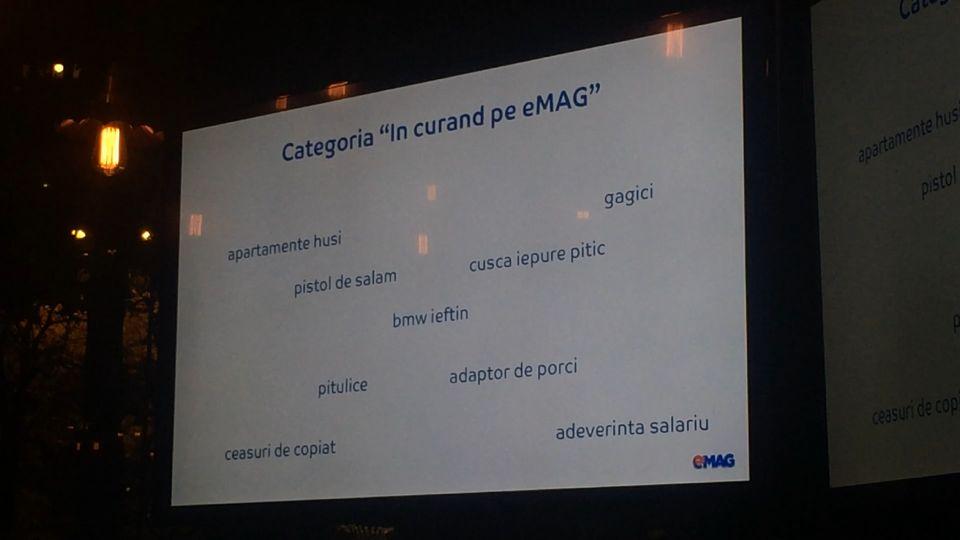 Informații faine despre eMAG