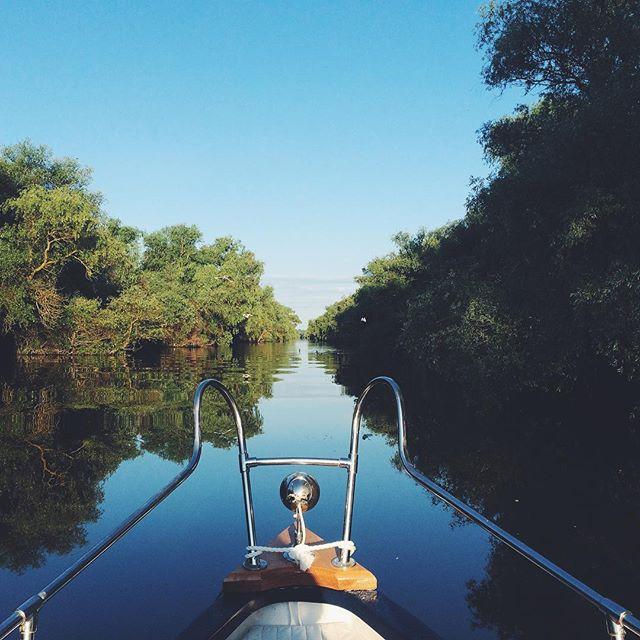 Rătăcind prin Delta Dunării