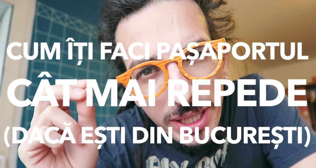 Cum să-ți faci pașaport (simplu, rapid și-n București)