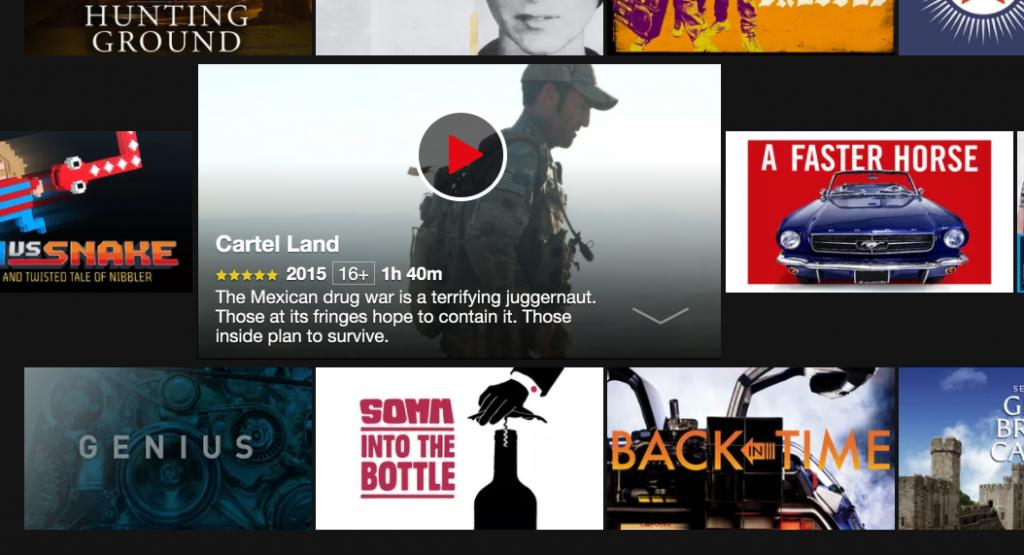 Am descoperit Netflix.