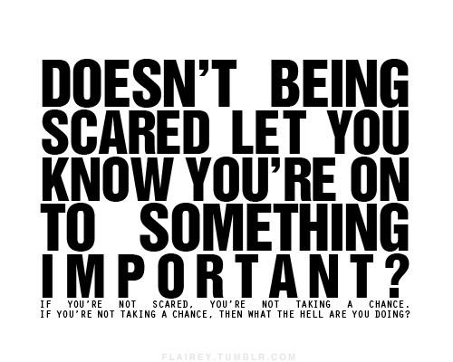 Dar multora le este frică...